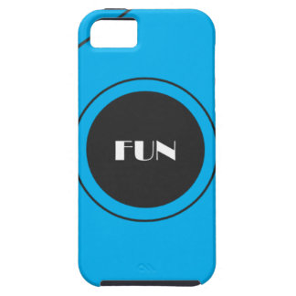 Cyan is for Youth, Black is for Confidence iPhone SE/5/5s Case