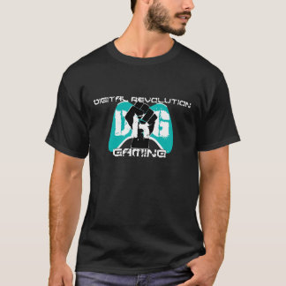 Cyan Logo T-Shirt: Men's Black T-Shirt