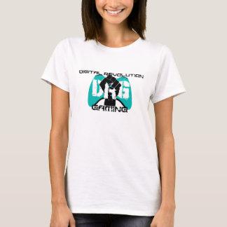 Cyan Logo T-Shirt: Women's White T-Shirt