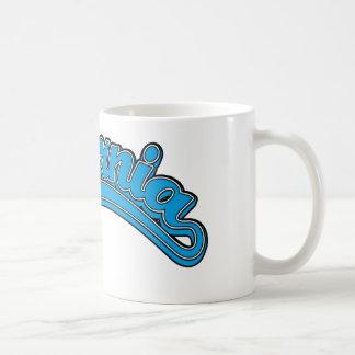 Cyan on Cyan Coffee Mug