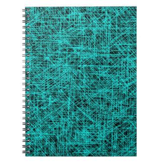 """Cyan """"Scratch"""" Notebook"""