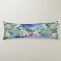 Cyanicity Koi Pond Body Pillow
