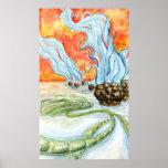 Cyanobacteria Art Print