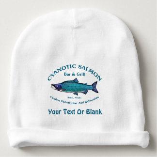 Cyanotic Salmon Bar & Grill Baby Beanie