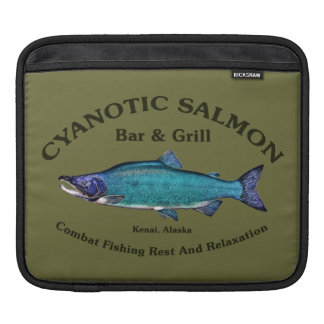 Cyanotic Salmon Bar & Grill Sleeve For iPads