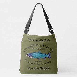 Cyanotic Salmon Bar & Grill Tote Bag