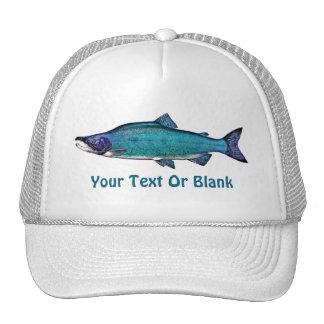 Cyanotic Salmon Trucker Hat