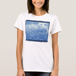 Cyanotype Mammatus Clouds 3 by KLM T-Shirt