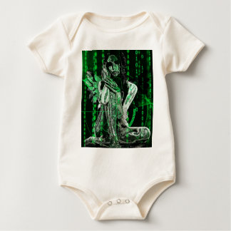 Cyber angel baby bodysuit