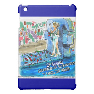 Cyber Beauty Queen Funny Gifts Cards Etc iPad Mini Cases