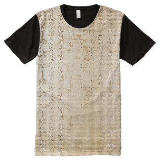 Cyber Binare Golden Black Design All-Over-Print Shirt