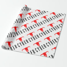 Cyber & Bull by VIMAGO Wrapping Paper