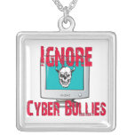 Cyber Bullies Message Necklace