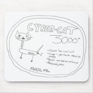 Cyber-Cat 3000 - Mousepad