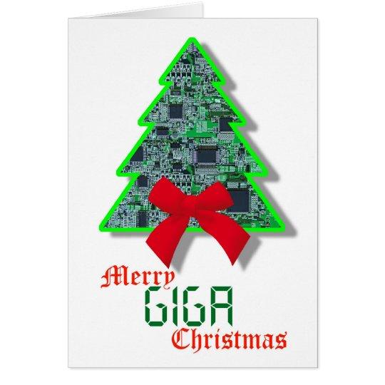 Cyber Christmas Card