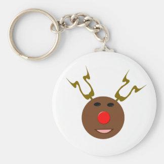 Cyber Christmas Reindeer Keychain