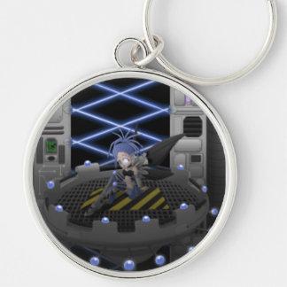 Cyber Doll Fantasy Keychain