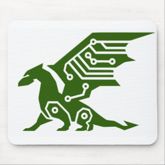 Cyber Dragon Mouse Pad