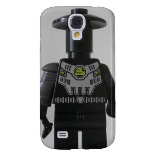 Cyber Droid Shadow Soldier Custom Minifigure Galaxy S4 Cases