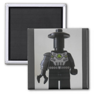 Cyber Droid Shadow Soldier Custom Minifigure Magnet