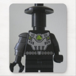 Cyber Droid Shadow Soldier Custom Minifigure Mouse Pad