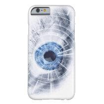 Cyber eye speck iphone case