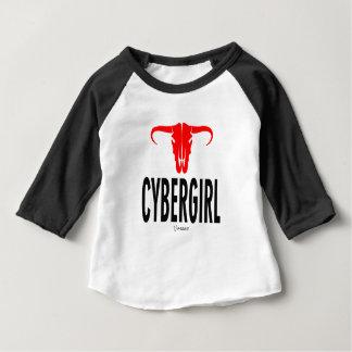 Cyber Girl & Bull Baby T-Shirt
