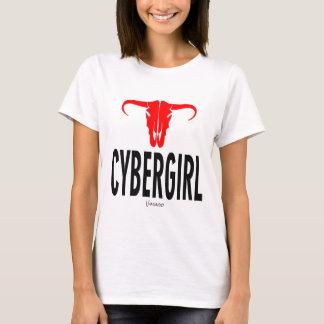 Cyber Girl & Bull by VIMAGO T-Shirt