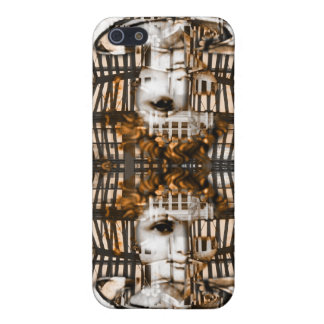 Cyber golden angel i-phone case iPhone 5/5S cases