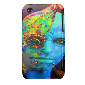 cyber goth iPhone 3 Case-Mate cases