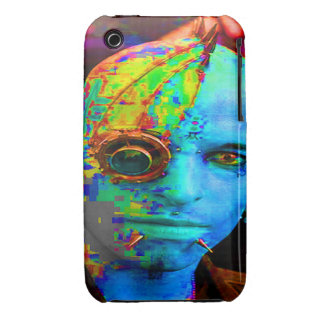 cyber goth iPhone 3 cover