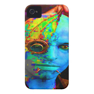 cyber goth iPhone 4 cover