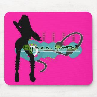 Cyber Goth UV Love Mousepad