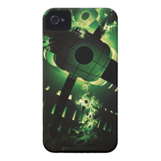 Cyber Green iPhone 4/4S Case