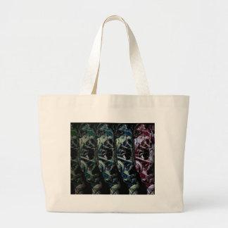 Cyber kid large tote bag