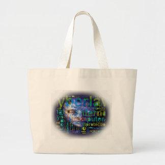 Cyber Man Canvas Bag