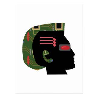 Cyber Man Postcard