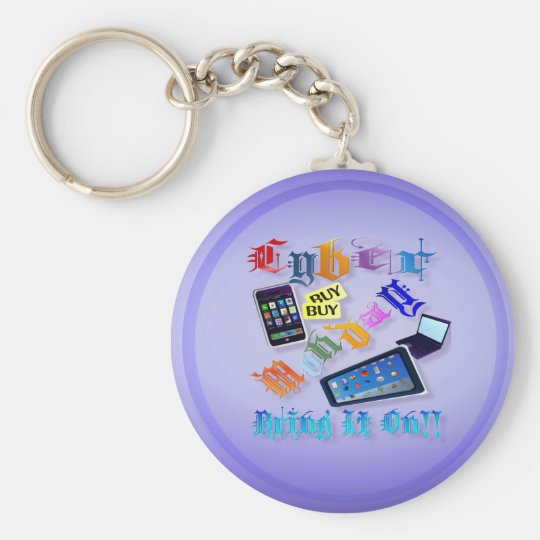 Cyber Monday-Bring It On! (2) Keychains