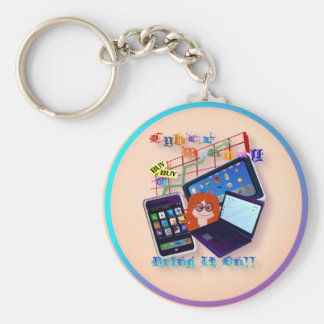 Cyber Monday-Bring It On!  Keychains