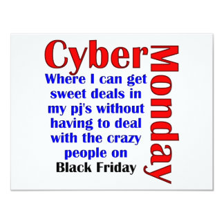 Cyber Monday Card