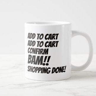 Cyber Monday Deal Christmas Online Shopping Giant Coffee Mug
