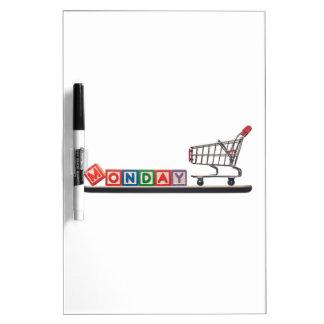Cyber Monday Dry-Erase Board