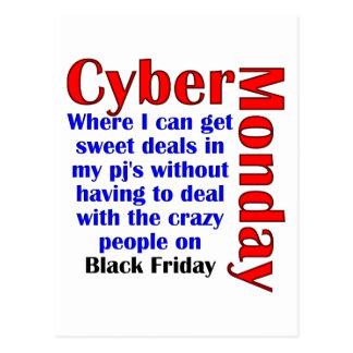 Cyber Monday Postcard