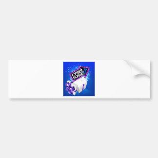 Cyber Monday Sale Gift Box Sign Bumper Sticker