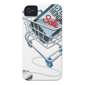 Cyber Monday Sale Phone Trolley Mouse Sign Case-Mate iPhone 4 Case