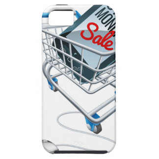 Cyber Monday Sale Phone Trolley Mouse Sign iPhone SE/5/5s Case