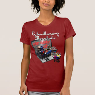 Cyber Monday Shopaholic Tshirt