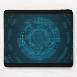 Cyber Network Mouse Pad