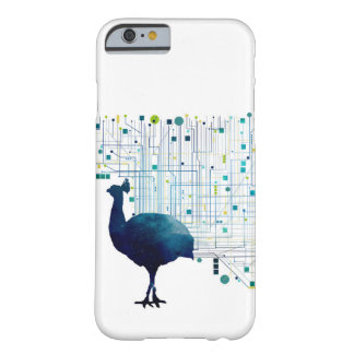 Cyber Peacock Barely There iPhone 6 Case
