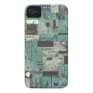 Cyber-Phone1 iPhone 4 Case-Mate Case